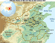 Chinese State of Wu and Chu in 5th Century BCE