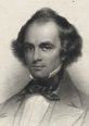 Portrait of Nathaniel Hawthorne by Thomas Phillibrown