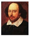 Portrait of William Shakespeare by John Taylor