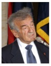 Photo of Elie Wiesel during an address to U.S. Congress